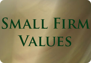 Small Firm Values
